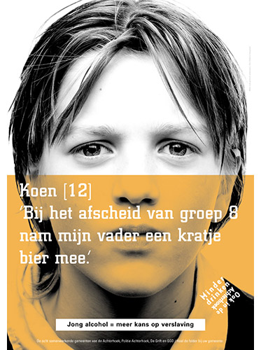 poster voor alcoholcampagne GGD