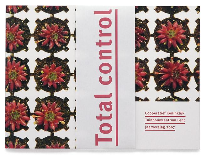 omslag met banderol jaarverslag CKTL
