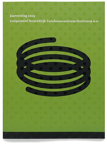 omslag jaarverslag Horticoop 2009