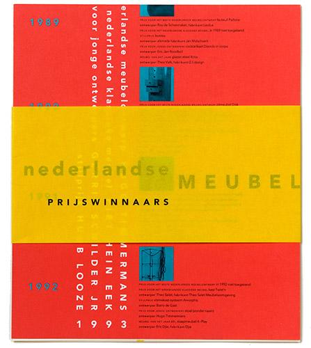prijswinnaarsbrochure Nederlandse Meubelprijzen 1993